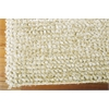 "Fantasia Rectangle Rug By, Snow, 5'6"" X 7'5"""