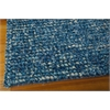 "Nourison Fantasia Rectangle Rug  By Nourison, Turquoise, 5'6"" X 7'5"""