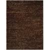 Fantasia Brown Shag Area Rug