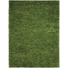 Fantasia Green Shag Area Rug