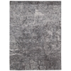 "Nourison Gemstone Rectangle Rug  By Nourison, Hematite, 5'6"" X 7'5"""