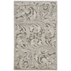 "Nourison Graphic Illusions Rectangle Rug  By Nourison, Grey Camel, 3'6"" X 5'6"""