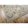 "Graphic Illusions Rectangle Rug By, Grey Camel, 5'3"" X 7'5"""