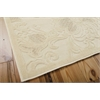 Graphic Illusions Cream Area Rug