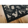 Graphic Illusions Pewter Area Rug