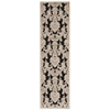 """Nourison Graphic Illusions Runner Rug  By Nourison, Black, 2'3"""" X 8'"""