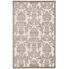 "Graphic Illusions Rectangle Rug By, Ivory Latte, 3'6"" X 5'6"""