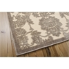 "Nourison Graphic Illusions Rectangle Rug  By Nourison, Ivory Latte, 5'3"" X 7'5"""
