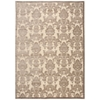 "Graphic Illusions Rectangle Rug By, Ivory Latte, 7'9"" X 10'10"""