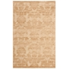 "Graphic Illusions Rectangle Rug By, Light Gold, 3'6"" X 5'6"""