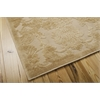 "Nourison Graphic Illusions Rectangle Rug  By Nourison, Light Gold, 5'3"" X 7'5"""