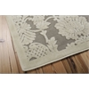 "Nourison Graphic Illusions Rectangle Rug  By Nourison, Nickel, 5'3"" X 7'5"""
