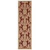 "Graphic Illusions Runner Rug By, Red, 2'3"" X 8'"
