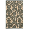 "Graphic Illusions Rectangle Rug By, Teal, 3'6"" X 5'6"""