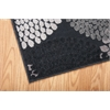 "Graphic Illusions Runner Rug By, Black, 2'3"" X 8'"