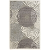 "Nourison Graphic Illusions Rectangle Rug  By Nourison, Grey, 3'6"" X 5'6"""