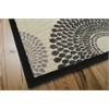 "Nourison Graphic Illusions Rectangle Rug  By Nourison, Parchment, 5'3"" X 7'5"""