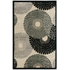 Graphic Illusions Parchment Area Rug