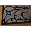 "Graphic Illusions Rectangle Rug By, Black, 5'3"" X 7'5"""