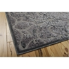 "Nourison Graphic Illusions Rectangle Rug  By Nourison, Grey, 5'3"" X 7'5"""
