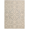"Graphic Illusions Rectangle Rug By, Beige Sand, 5'3"" X 7'5"""