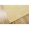 "Nourison Graphic Illusions Rectangle Rug  By Nourison, Yellow, 5'3"" X 7'5"""