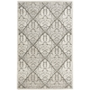"Graphic Illusions Rectangle Rug By, Ivory, 3'6"" X 5'6"""