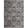 "Graphic Illusions Rectangle Rug By, Black, 7'9"" X 10'10"""