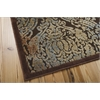 "Nourison Graphic Illusions Rectangle Rug  By Nourison, Chocolate, 5'3"" X 7'5"""