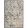 "Nourison Graphic Illusions Rectangle Rug  By Nourison, Sky, 5'3"" X 7'5"""