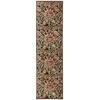 "Graphic Illusions Runner Rug By, Brown, 2'3"" X 8'"