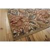 "Graphic Illusions Rectangle Rug By, Light Gold, 5'3"" X 7'5"""
