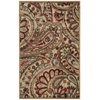 "Nourison Graphic Illusions Rectangle Rug  By Nourison, Light Multicolor, 3'6"" X 5'6"""