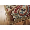 "Nourison Graphic Illusions Rectangle Rug  By Nourison, Light Multicolor, 5'3"" X 7'5"""