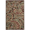 """Graphic Illusions Rectangle Rug By, Multicolor, 3'6"""" X 5'6"""""""