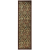 "Nourison Graphic Illusions Runner Rug  By Nourison, Chocolate, 2'3"" X 8'"