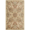 "Graphic Illusions Rectangle Rug By, Beige, 3'6"" X 5'6"""