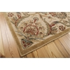 "Graphic Illusions Rectangle Rug By, Beige, 5'3"" X 7'5"""