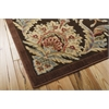 """Graphic Illusions Rectangle Rug By, Chocolate, 5'3"""" X 7'5"""""""