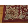 "Nourison Graphic Illusions Rectangle Rug  By Nourison, Red, 5'3"" X 7'5"""