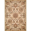 Graphic Illusions Beige Area Rug