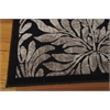"Nourison Graphic Illusions Rectangle Rug  By Nourison, Black, 5'3"" X 7'5"""