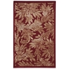 "Nourison Graphic Illusions Rectangle Rug  By Nourison, Red, 3'6"" X 5'6"""