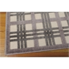 "Graphic Illusions Rectangle Rug By, Ivory Taupe, 5'3"" X 7'5"""