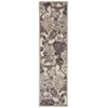 "Nourison Graphic Illusions Runner Rug  By Nourison, Ivory, 2'3"" X 8'"