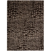 Glistening Nights Black Area Rug