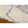 Galway Rectangle Rug By, Ivory Blue, 5' X 7'