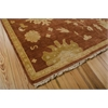 "Nourison Grand Estate Rectangle Rug  By Nourison, Persimmon, 7'9"" X 9'9"""