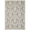 Graphic Illusions Nickel Area Rug