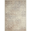 Graphic Illusions Ivory Area Rug